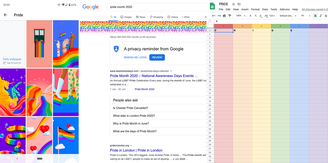 Pride-Google
