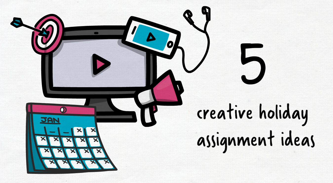 5 Creative video holiday assignment ideas to keep students engaged
