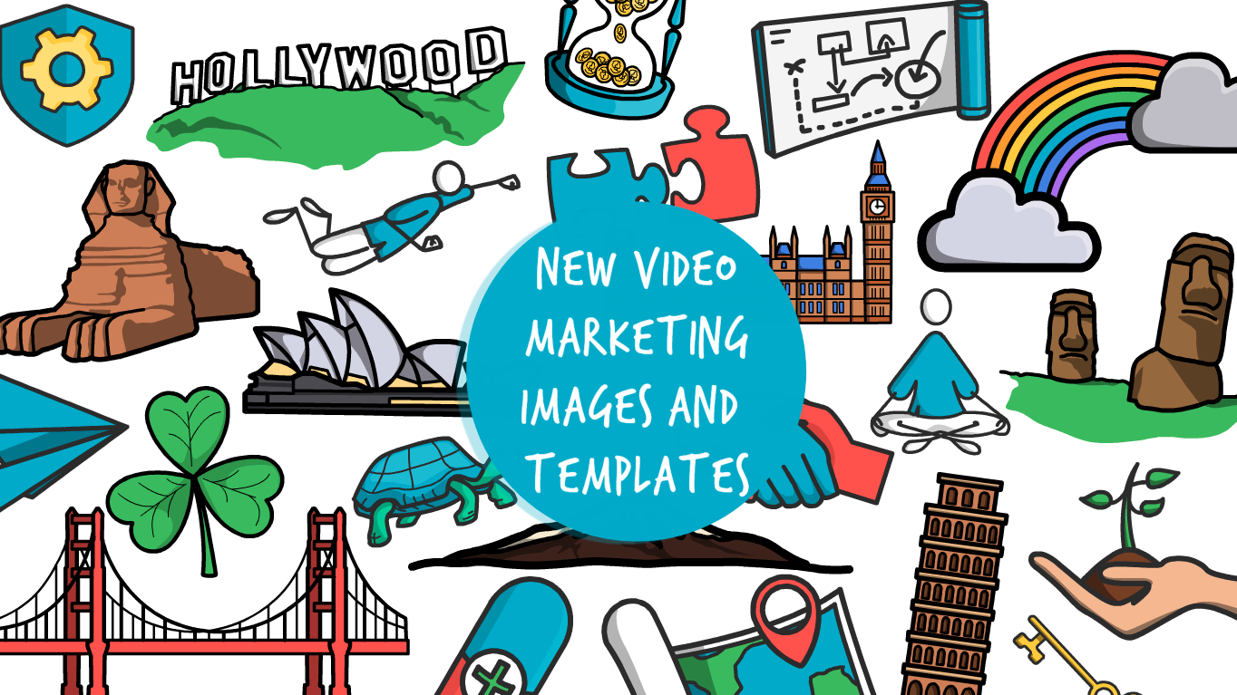 New images and templates to supercharge your video marketing
