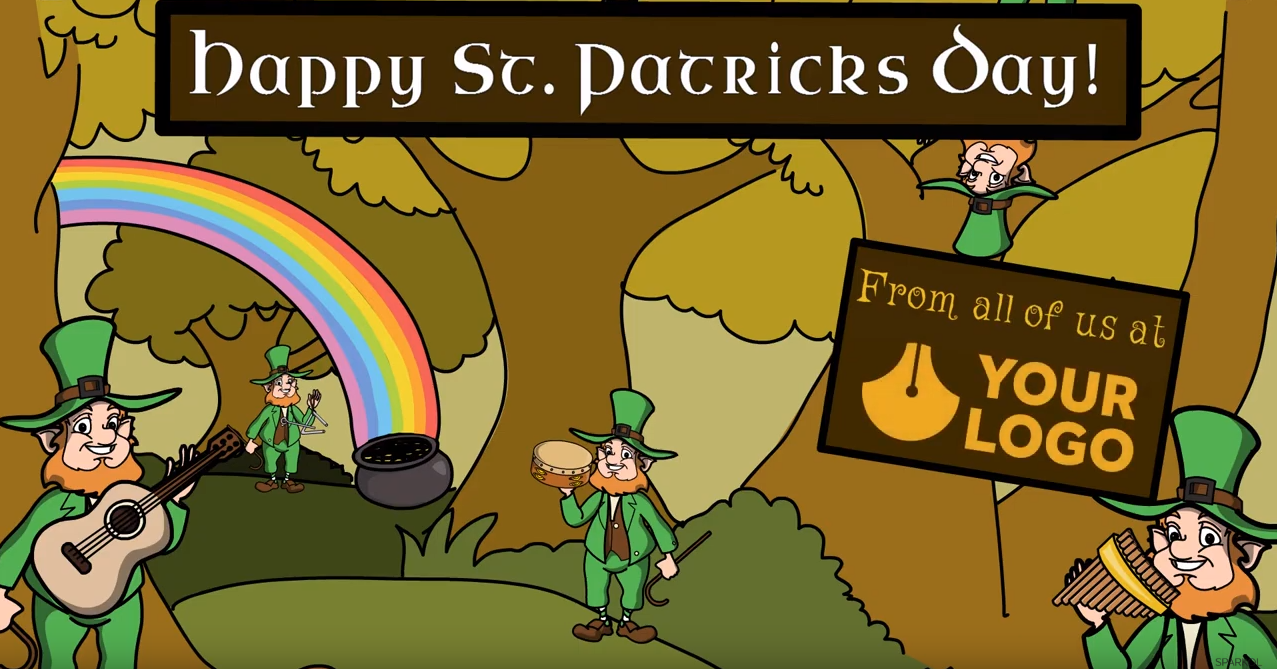 You're in luck! 3 editable St. Patrick's Day templates